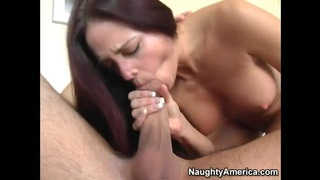 Cheyenne Hunter has some fun with a young dick