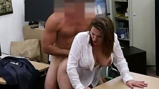 Foxy business lady fucked to earn money