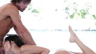 Babes tight poon tang gives hunk carnal enjoyment
