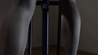 model love masturbating with strap om