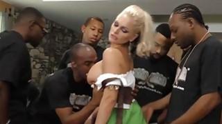 Alena Croft Serves Her Pussy Up To Black Men