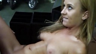 Teen bitch deepthroats and rides a huge rod