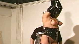 Tits Bondage Action With Nasty Whore